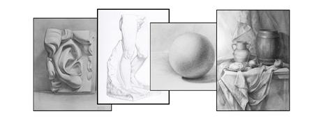 Image de la catégorie Cours de dessin d'observation au graphite