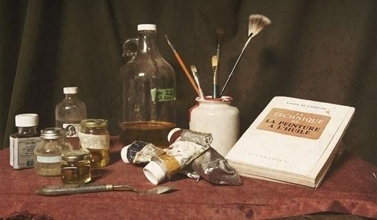 Les secrets de la peinture à l'huile